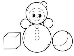 toys coloring pages for babies 19 toys kids printables