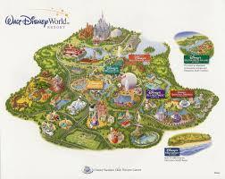 Walt Disney World Map by Purple Disney Disney Theme Parks