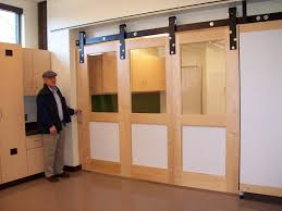Barn Doors With Windows Ideas Collection In Interior Barn Doors With Windows With Best Glass