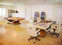 simple game room in a house casino theme casino theme game room