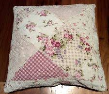 pink patchwork shabby chic cushions ebay