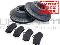 porsche boxster brake pads buy porsche boxster 986 987 981 brake pads disc package