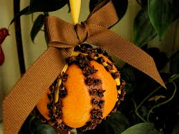 easy diy gift orange clove pommander for scent or and to