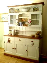 large country style welsh dresser given a shabby chic makeover