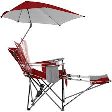Folding Chair With Canopy Top by Amazon Com Sport Brella Recliner Chair Sports U0026 Outdoors