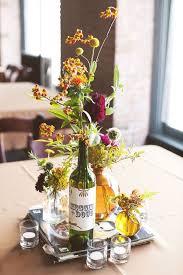 wine bottle centerpieces for wedding wine bottle centerpiece