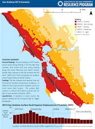 Map Of Greater San Francisco Area by Cascading Failures Abag Resilience Program