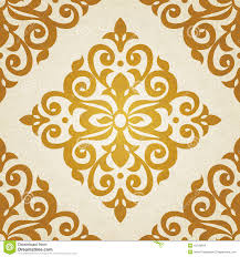 vector seamless pattern in victorian style illustration 41540816