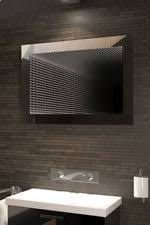 bathroom infinity mirror reflection rgb led bathroom infinity mirror k214rgb ebay