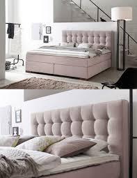 Ein Schlafzimmer Einrichten Boxspringbett Areo Mit Diesem Boxspringbett In Pastellrosé Zieht