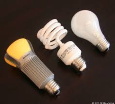 side by side led cfl and incandescent bulbs cnet
