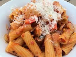 one pot pasta chicken rigatoni 8 oz rigatoni uncooked rinsed