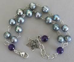 silver pearls bracelet images Handmade pearl bracelet handmade jewelry jpg