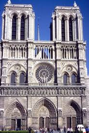 medieval cathedral notre dame