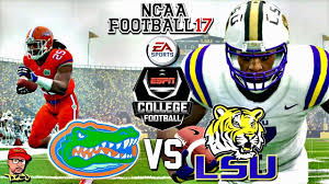 thanksgiving college football ncaa football 17 23 florida vs 16 lsu college football kick