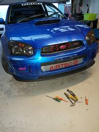 blob eye subaru fmic fitting newage impreza subaru how to section subaru