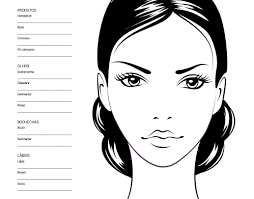 halloween makeup stencils 204 best make up face charts images on pinterest face charts