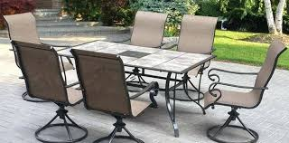 patio dining table and chairs outdoor patio table set transgeorgia org