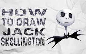 how to draw jack skellington the nightmare before christmas