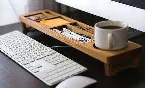 Wooden Desk Organizers Home Office Desk Organizers Interesting Office Desk