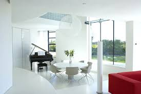 hygena white gloss dining table 4 chairs white gloss extending