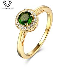 natural gemstone rings images 0 5ct natural diopside gemstone ring 925 sterling silver jpg