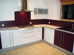 mur cuisine aubergine cuisine aubergine et grise 3 indogate cuisine blanche mur bleu