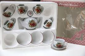 bunny tea set mnib vintage reuter kinder porzellan service miniature bunny tea