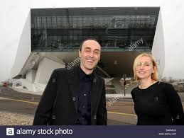 delugan meissl porsche museum architects roman delugan l and his wife and business partner