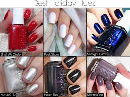 the best nail polish hues for the holidays camille la vie