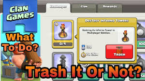 Challenge What To Do What S Happen When You Trash A Clan Challenge What To Do