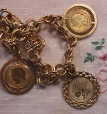 antique charm bracelet images Antique charms and charm bracelets jpg