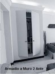 armadio a muro prezzi armadio a muro con 2 ante cabina armadio ciliegio80x200 ebay