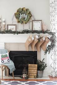 magnolia wreath mantel decor the turquoise home