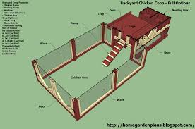 Backyard Building Plans Chicken Coop Building Blueprints With Building A Simple Chicken