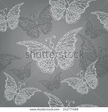 wallpapers of glitter butterflies grey butterfly wallpaper seamless pattern ornate doodle hand drawn