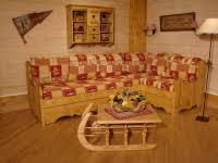 canapé en pin canapé d angle chamonix batirenover