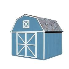 handy home products columbia 12 ft x 24 ft wood storage building
