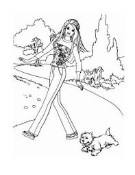 barbie coloring pages disney coloring pages