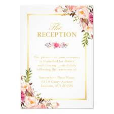 wedding reception invitation wedding reception rsvp 3 menu choices response card zazzle