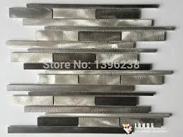 conception cuisine en ligne 3d bande métal mosaïque motif conception cuisine dosseret mur en