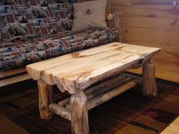 Log Bed Pictures by Half Log Coffee Table Log Family Room Living Room