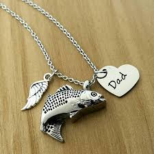 memorial jewelry for ashes fish urn necklace memorial jewelry cremation necklace fish