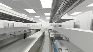 Kitchen Equipment Design by Cad Layout 3d Image Whole Package Of Good Quality Equipment