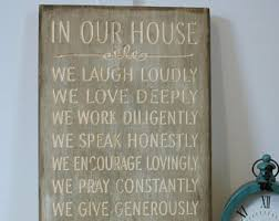 Family House Rules Disney Rules In This House We Do Disney House Rules Family