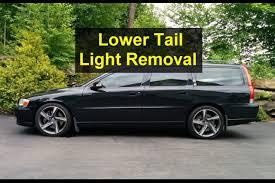 volvo s60 tail light assembly lower light assembly removal p2 volvo wagon v70 xc r etc votd