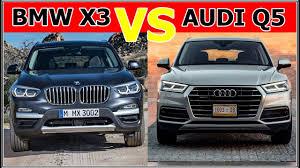 q5 vs bmw x3 2018 bmw x3 vs 2018 audi q5 exterior interior and driving