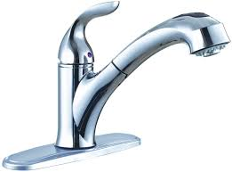 Single Handle Kitchen Faucets by Premier Faucet 126969 Waterfront Lead Free Single Handle Kitchen