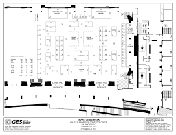 anaheim convention center floor plan pennoni trade show booth smart cities philadelphia u0026 california