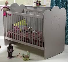 chambre bébé taupe et lit bébé ludo taupe